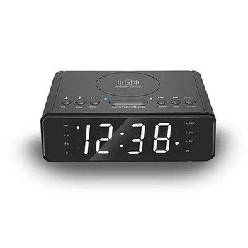 Why Is It Said That Alarm Clock With Wireless Charging Is Suitable For Playing In The Dead Of Night?